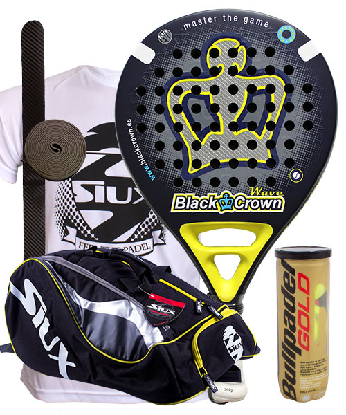 PACK BLACK CROWN WAVE 2014 Y PALETERO SIUX MASTERCOMBI