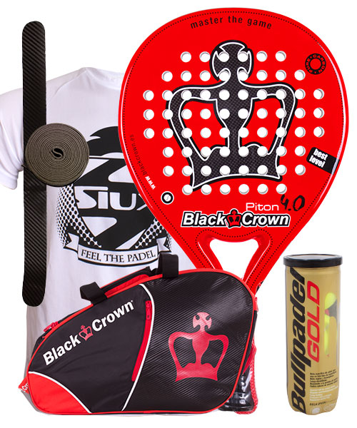 PACK BLACK CROWN PITON 4.0 Y PALETERO BLACK CROWN SUN