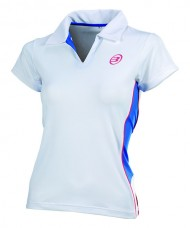 POLO BULLPADEL BROTE BLANCO