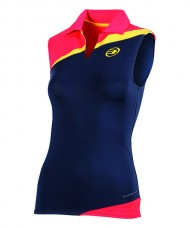 POLO SHIRT SLEEVELESS BULLPADEL DORNILLAS NAVY BLUE
