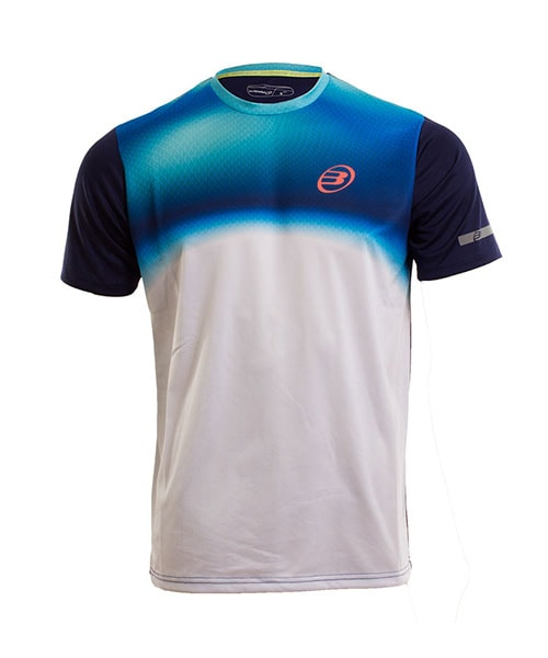 CAMISETA BULLPADEL VULCANO AZUL REAL
