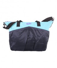 BOLSA LOTTO FITNESS WOMAN AZUL MARINO