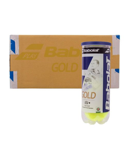BOX OF TENNIS BALLS BABOLAT GOLD