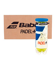 BOX OF 24 CANS OF 3 BALLS BABOLAT PADEL PLUS