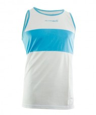 RUNAWAY JIM FILIPIDES WHITE ROYAL TANK TOP 74121 A12