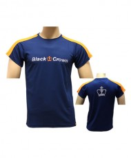 CAMISETA BLACK CROWN GAME AZUL