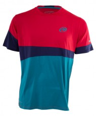 CAMISETA BULLPADEL BLUED ROJO