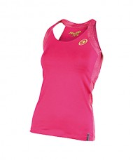 T-SHIRT BRACES BULLPADEL BOUZA FUCHSIA