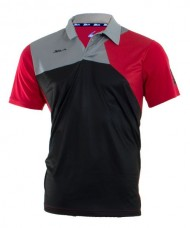 POLO SHIRT SIUX ZEUS BLACK RED