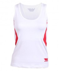 T-SHIRT WINGPADEL W-MAIRA WHITE RED