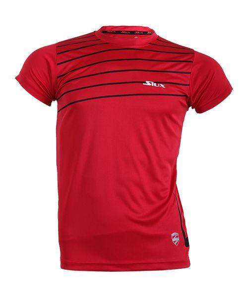 camiseta-siux-break-roja, 6.95 EUR @ padelnuestro-es