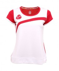 BLOUSE SIUX ELSA WHITE RED