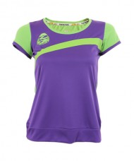 BLOUSE SIUX ELSA PURPLE GREEN