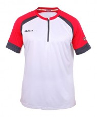 T-SHIRT SIUX SUMPRA WHITE AND RED