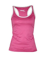 SOFTEE FULL PINK WHITE TANK TOP