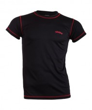 TECHNICAL T-SHIRT PADEL SESSION BLACK RED