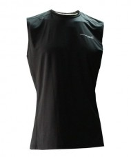 TANK T-SHIRT TRAIL BLACK RUNAWAY JIM
