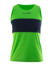 TANK T-SHIRT FILIPIDES RUNAWAY JIM JUNIOR GIRL GREEN 74124 A09
