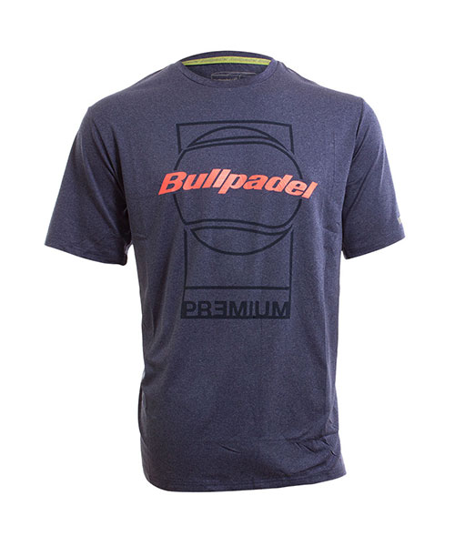 T-SHIRT BULLPADEL VINCI NAVY BLUE