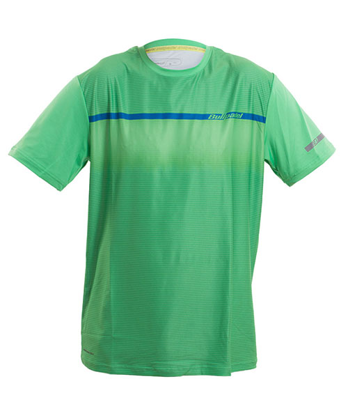 T-SHIRT BULLPADEL VITORIO ACID GREEN