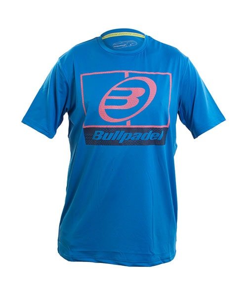 T-SHIRT BULLPADEL VOMANO ROYAL BLUE