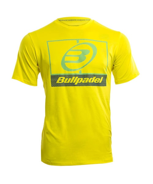 CAMISETA BULLPADEL VOMANO LIMON