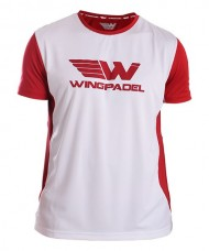 T-SHIRT WINGPADEL LALO RED