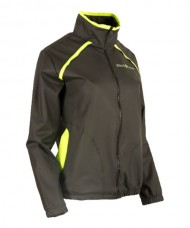 CHAQUETA BLACK CROWN IRISH NEGRO AMARILLO