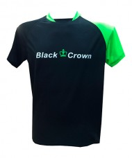 CAMISETA BLACK CROWN DELFOS NEGRO VERDE