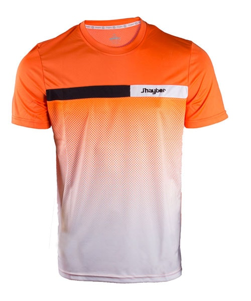 T-SHIRT JHAYBER ORANGE WHITE DA3193 901