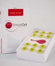 ANTIVIBRATOR SHOCKOUT PADEL YELLOW
