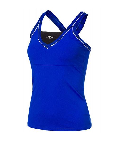 4a0f69fb85aae camiseta naffta tirantes azul royal