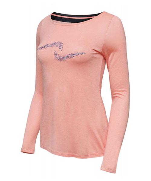 1a5227efc52fb camiseta naffta manga larga mujer