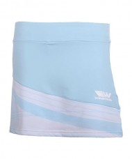 SKIRT WINGPADEL W-KEILA BLUE WHITE