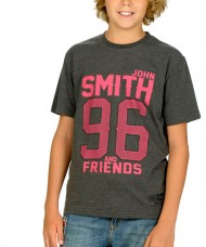 CAMISETA JOHN SMITH FAXCOL JUNIOR GRIS OSCURO