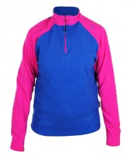FLEECE SIUX BIEL WOMAN ROYAL FUCHSIA