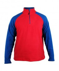 FLEECE JACKET SIUX LUGANO RED ROYAL