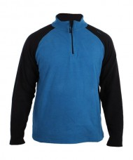 FLEECE JACKET SIUX LUGANO BLUE BLACK