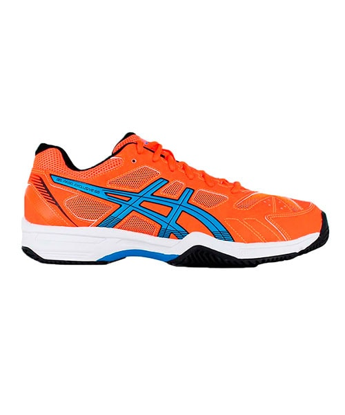 ASICS GEL PADEL EXCLUSIVE 4SG ORANGE FLUOR BLUE