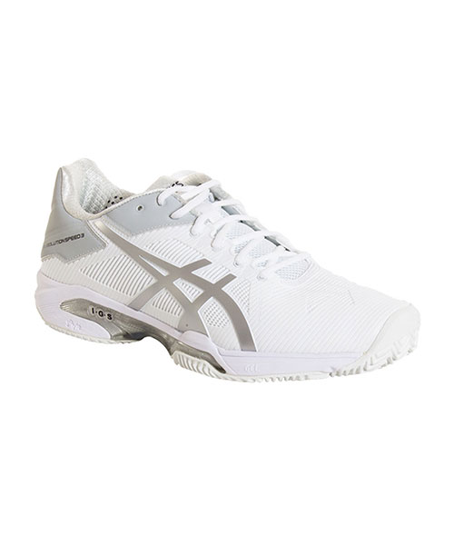 Blanco Zapatillas Asics Gel Solution Speed 3 para mujer