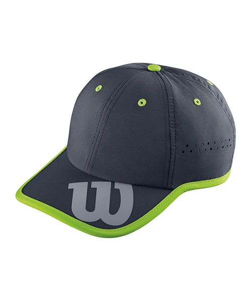 CAP WILSON BASEBALL HAT COAL