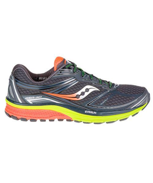 Saucony S20464-36 Guide ISO 2 Bleu//Orange Homme Chaussures De Course Baskets