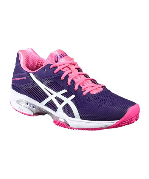 asics solution speed clay mujer