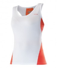 HEAD TOP ALI TANK WHITE ORANGE