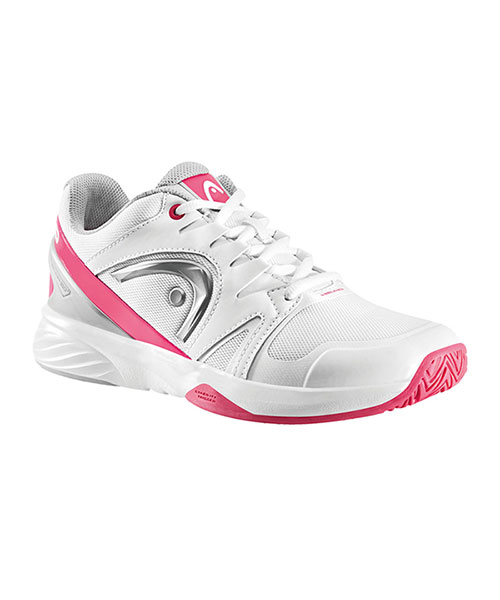 HEAD NITRO TEAM WOMAN WHITE PINK PADEL SHOES