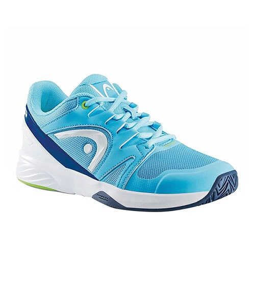 HEAD NITRO TEAM WOMAN BLUE AND WHITE PADEL SHOES
