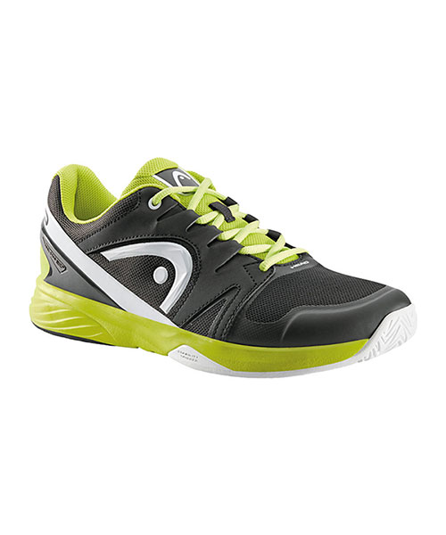 HEAD NITRO TEAM BlACK YELLOW TRAINERS