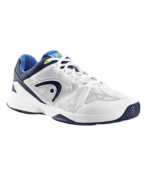HEAD REVOLT PRO 2.0 CLAY WHITE BLUE PADEL SHOES