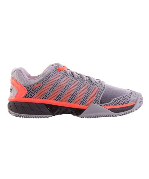 PADEL SHOES K-SWISS HYPERCOURT EXPRESS HB GREY CORAL
