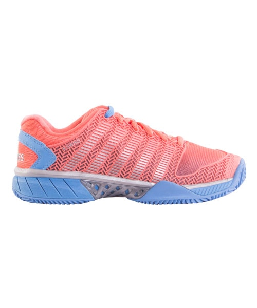 PADEL SHOES K-SWISS HYPERCOURT EXPRESS HB CORAL BLUE